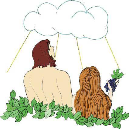 Las historias biblicas y yo adan y eva for Adan y eva en el jardin