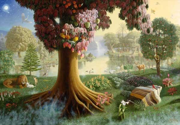 Ad n y eva no obedecieron for Adan y eva en el jardin del eden