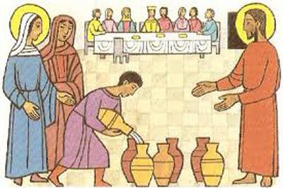 Resultado de imagen para Imagenes de María en las bodas de caná