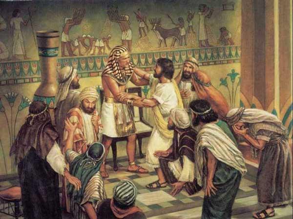 José perdona a sus hermanos