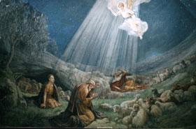 11. Hoy, en la ciudad de David, ha nacido para ustedes un Salvador ...