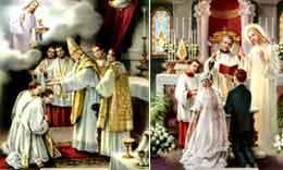 Matrimonio Catolico Sacramento : Sacramentos iv:orden sacerdotal y matrimonio